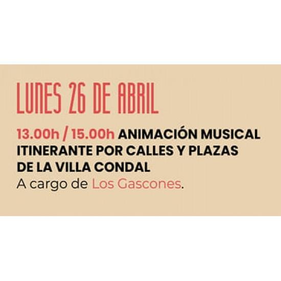 """26/04/2021 -  """"Los Gascones"""" - Jornadas del Picadillo y Sabadiego Noreña 2021"""