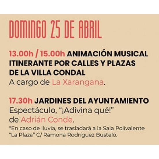 """25/04/25021 - """"Adivina qué"""" de Adrian Conde  - Jornadas Picadillo y Sabadiego - Noreña"""