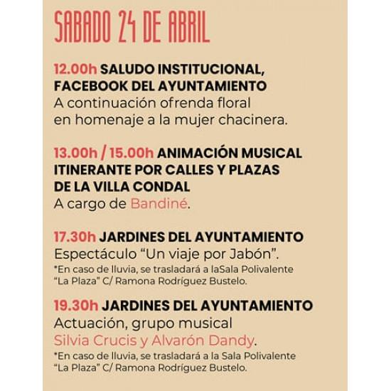 """24/04/2021 - grupo musical """"Silvia Cruces y Alvaron Dandy"""" - Jornadas del Picadillo y Sabadiego Noreña 2021"""