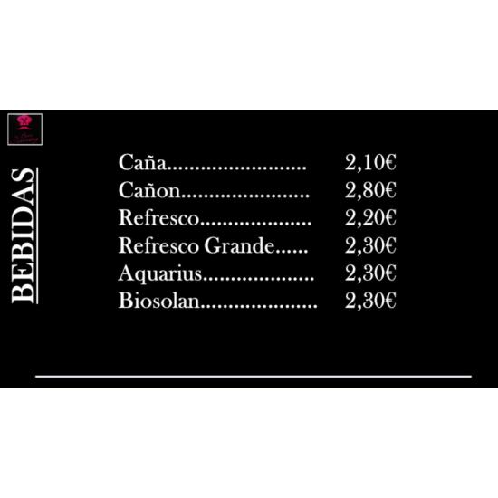 """Bebidas """"Café Jomay"""""""