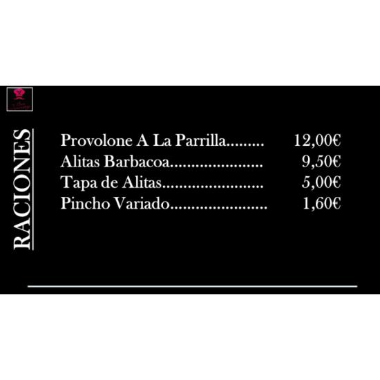 """Raciones """"Café Jomay"""""""